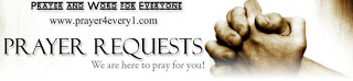 Prayer Request - folded hands