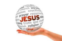 14363560-hand-holding-a-jesus-word-sphere-on-white-background